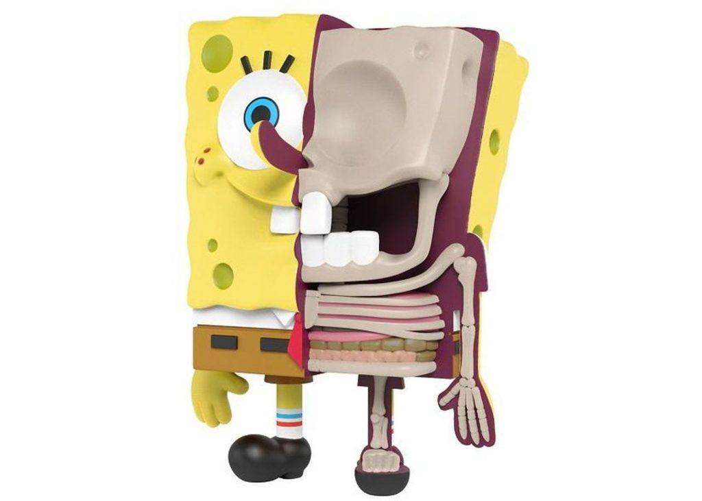 Jason-Freeny-x-Nickeldeon-Spongebob-Hidden-Dissectibles-Spongebob-Figure-Multi