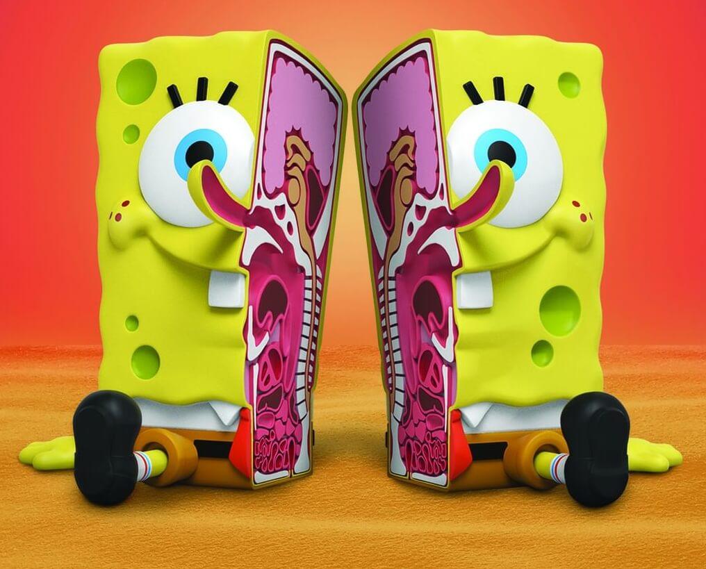 Jason-Freeny-x-Nickeldeon-Spongebob-XXposed-Spongebob