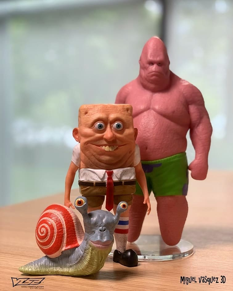 Humanoid Sea Friends The Mollusk Miguel Vasquez VTSS Toys