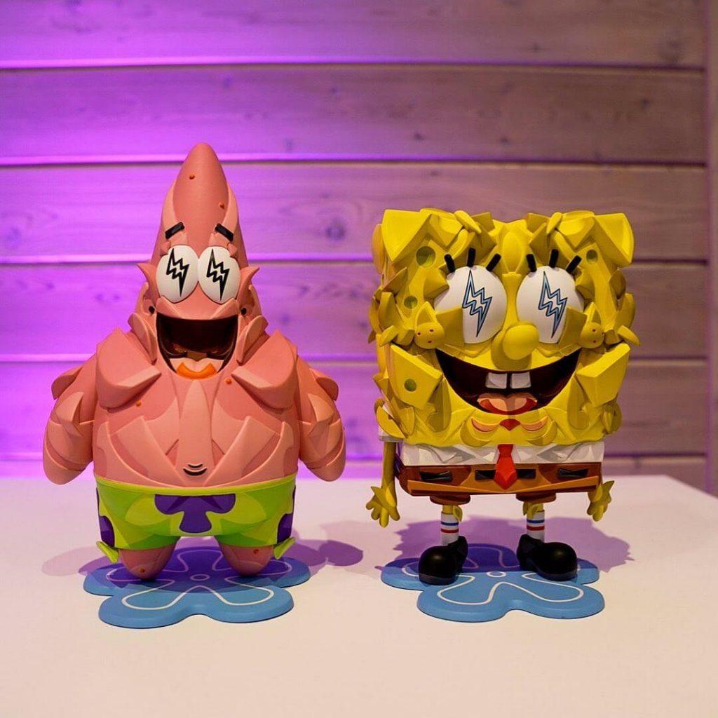 Louis de Guzman Spongebob J Balvin