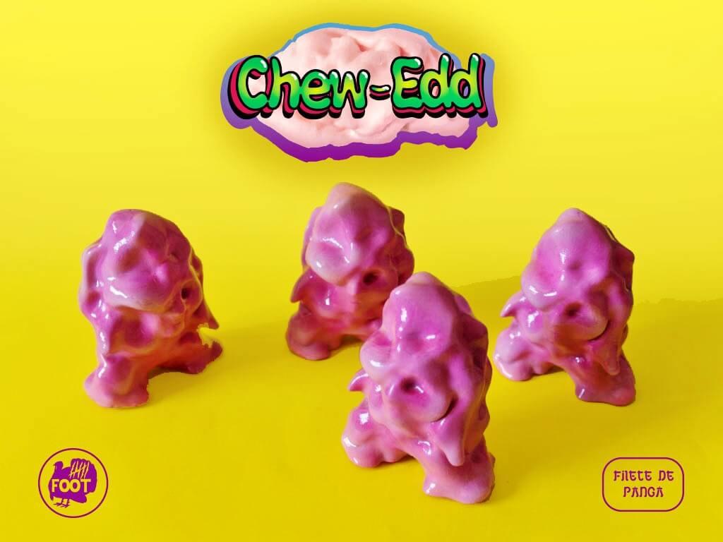 Chew-Edd Six Foot Turkey Toys Chicle Bubblegum