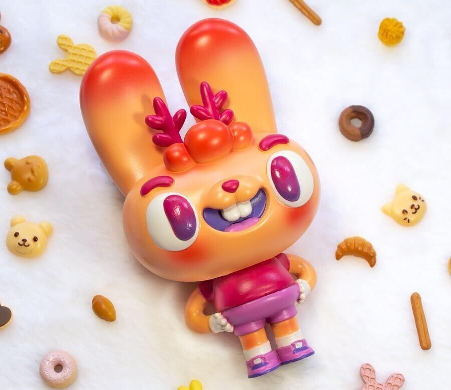 Dorobanii Stickup Monsters Javier Jimenez Zinkete Resin Toy Art Toy