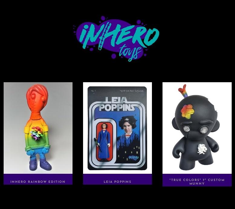Inhero Toys ARt Toys