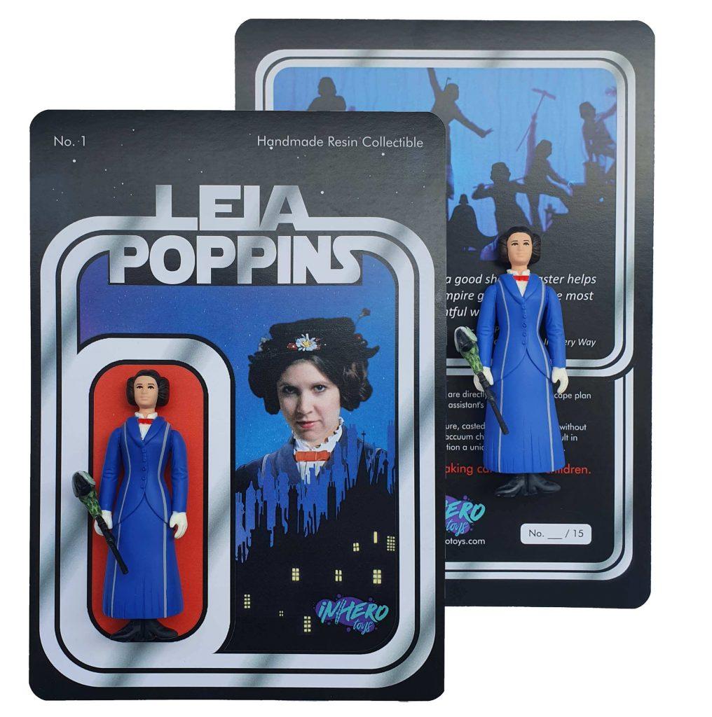 Inhero Toys ARt Toys Leia Poppins Bootleg