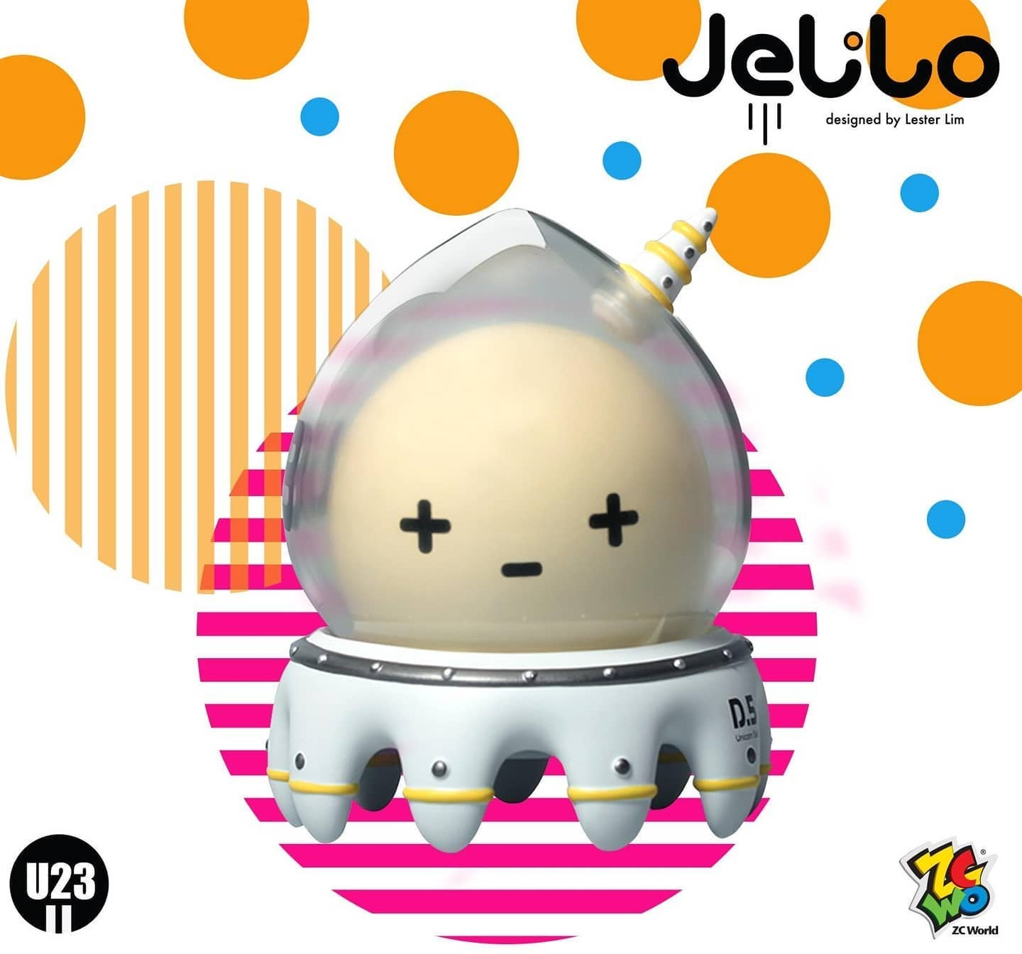 Jelilo U23 Gagatree ZC World Vinyl Toy Art Toy