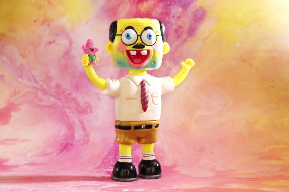 Unbox Industries Dehara Yukinori Spongebob Squarepants Sofubi 2