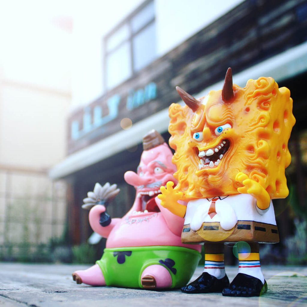 Unbox Industries Spongebob Squarepants Sofubi Nomiwa