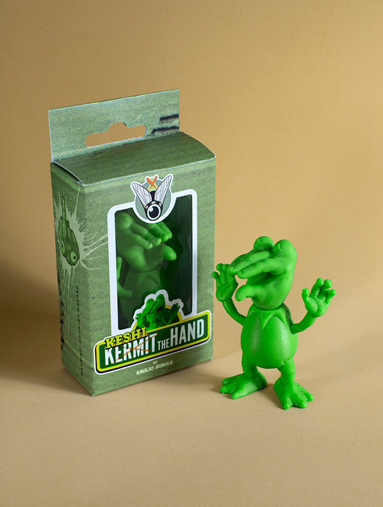 keshi the Hand Emilio Subira Art Toy