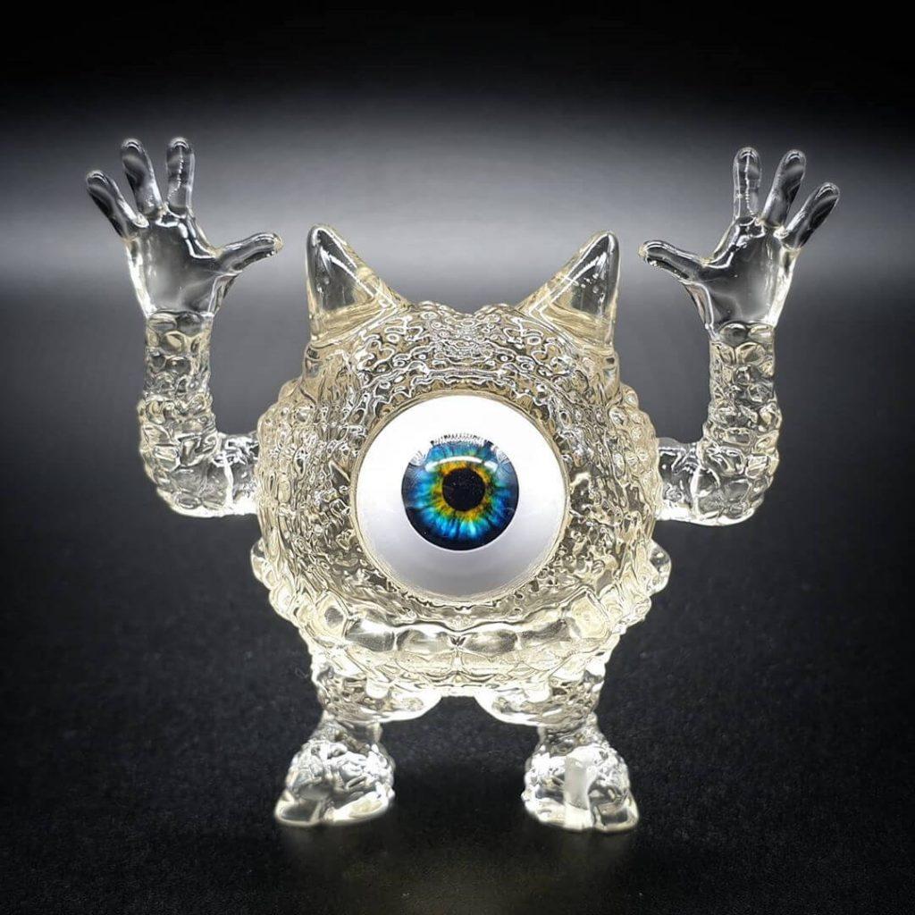 Daniel Halien Serie diabólica Babawa Art Toy Resina