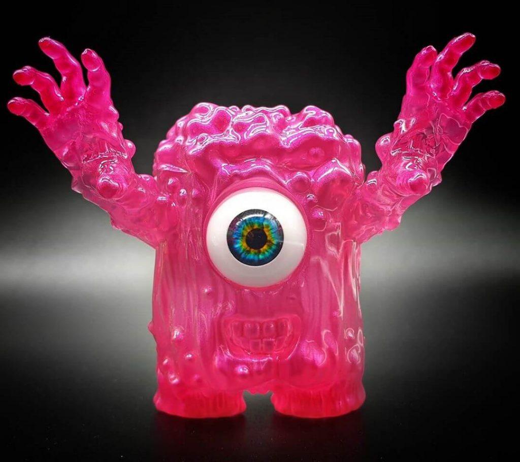 Daniel Halien Serie diabólica Mokko Art Toy Resina