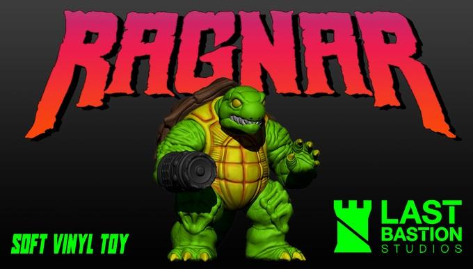 Ragnar Soft Vinyl Toy Kickstarter Last Bastion Studio