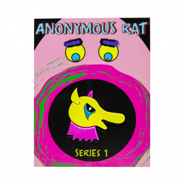 Anonymous Rat Pin