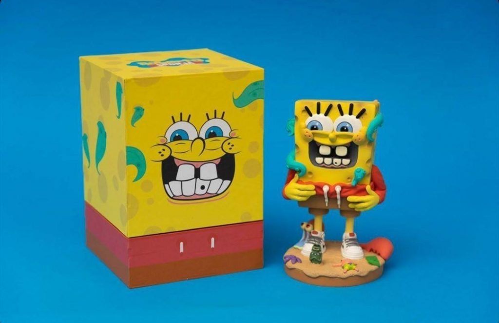 Roberto Sponja Joe Chip Company Art Toy