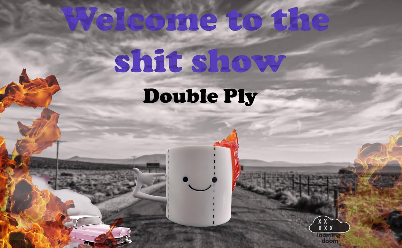 Double Ply Roll or Die Looming Doom Art Vinyl Toy