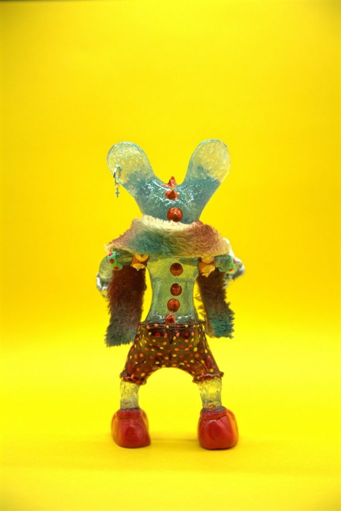 Miss Santeria Friky Mouse Second Impact Art Toy Resin Toy