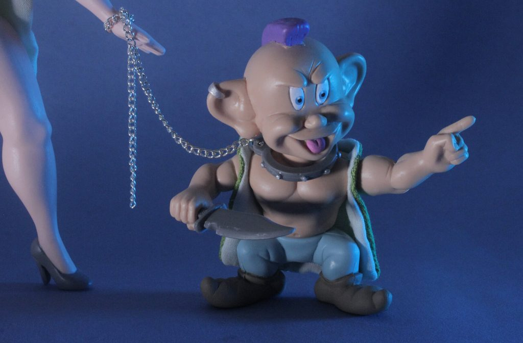 Dopey Betterdaystoys Art Toy Action Figure