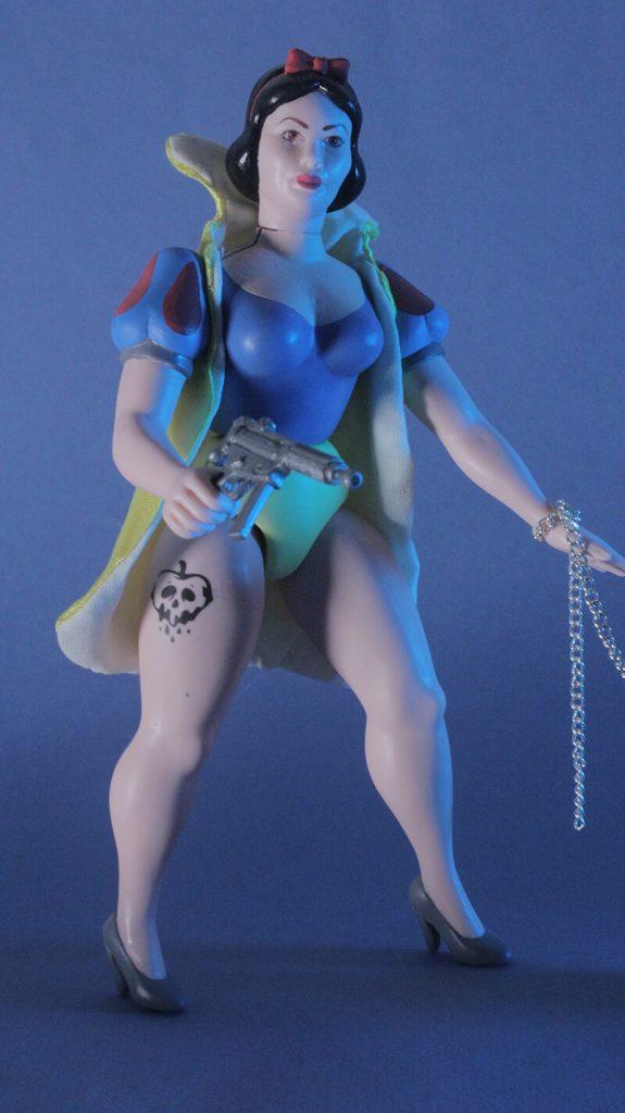 Snow Bitch Betterdaystoys Art Toy Action Figure
