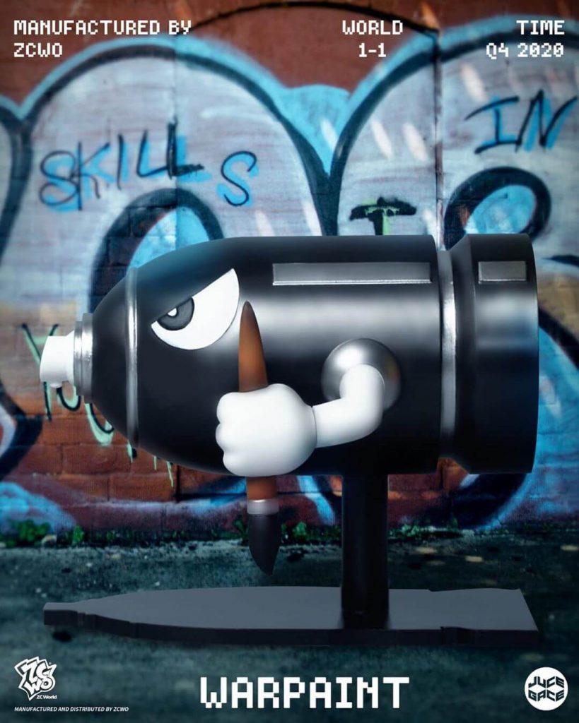 War Paint Juce Gace ZC World Art Toy