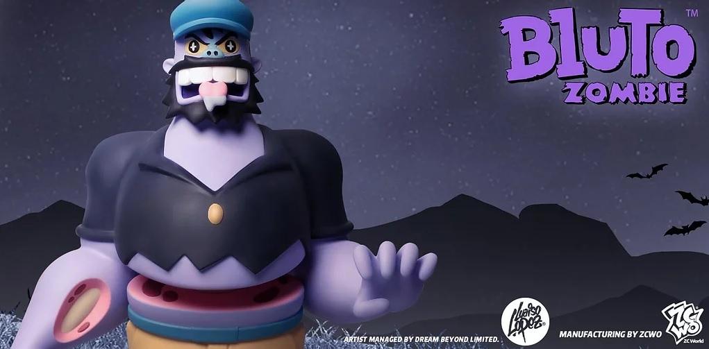Bluto Zombie Luaiso Lopez ZCWO Art Toy Popeye