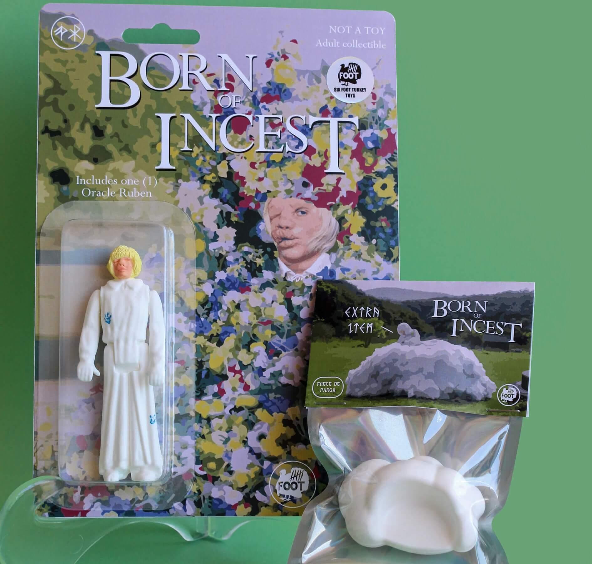 Born of incest Midsommar Ruben Bootleg Six Foot Turkey Toys