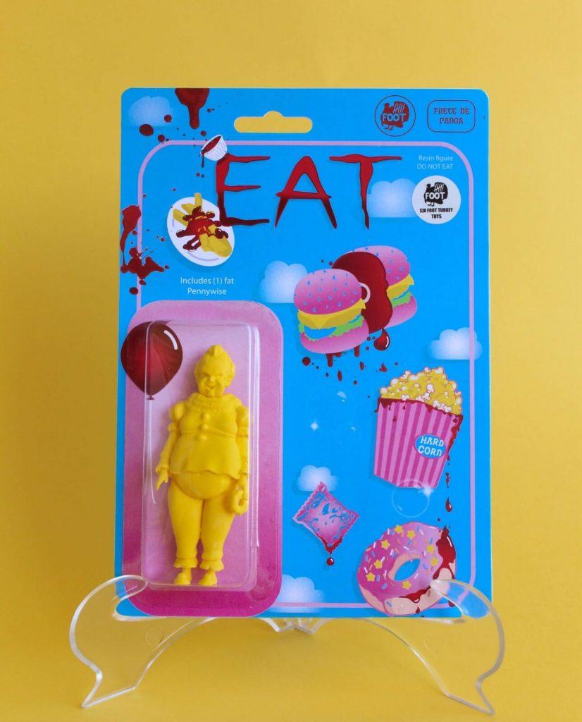 EAT Six Foot Turkey Toys Bootleg Art Toy Pennywise