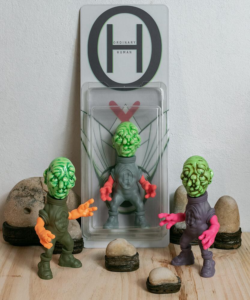 Ordinary Human Emilio Subira Art Toy