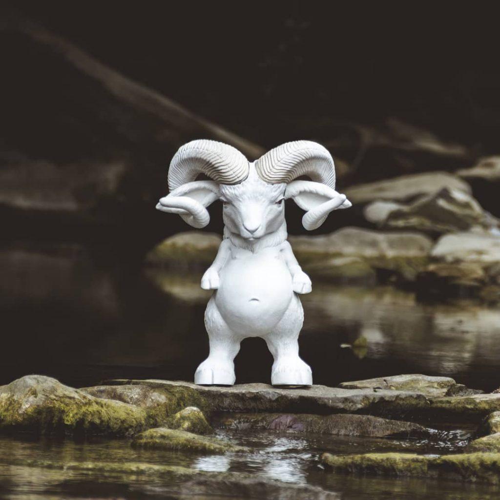 Agapito Bichin Ornamante Resin Sculpture