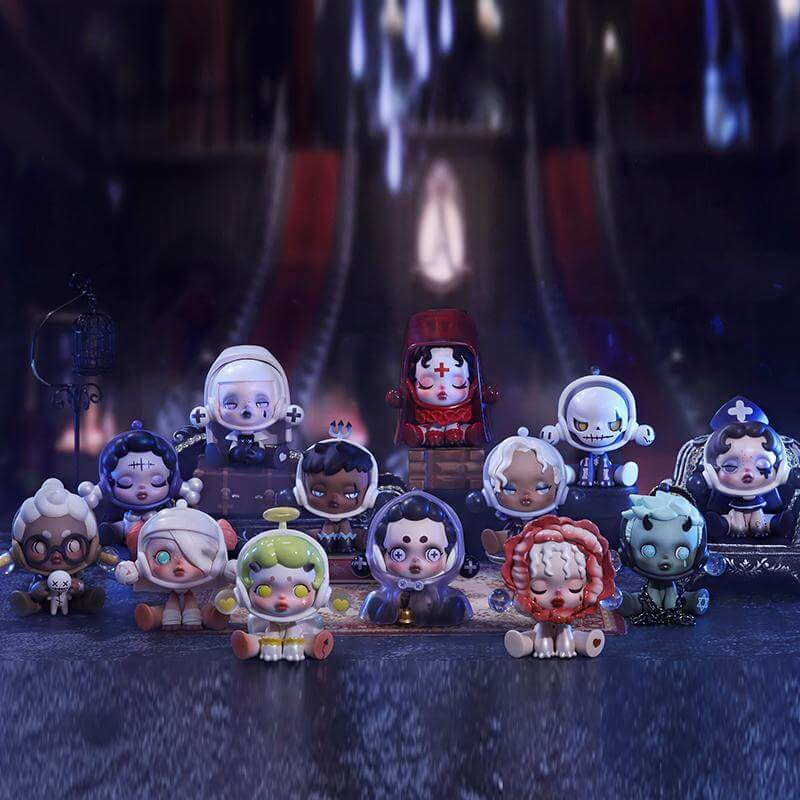 Skullpanda Popmart Halloween 2020 Art Toys