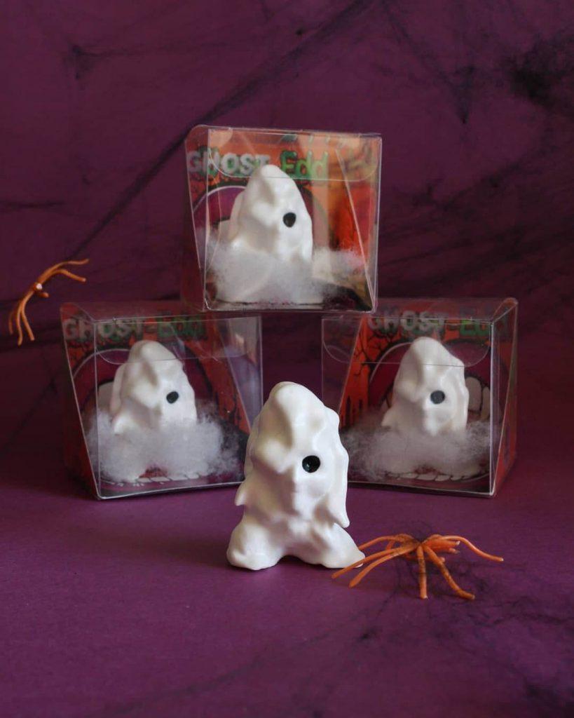 Ghost Edd Six Foot Turkey ToysHalloween 2020 Art Toys