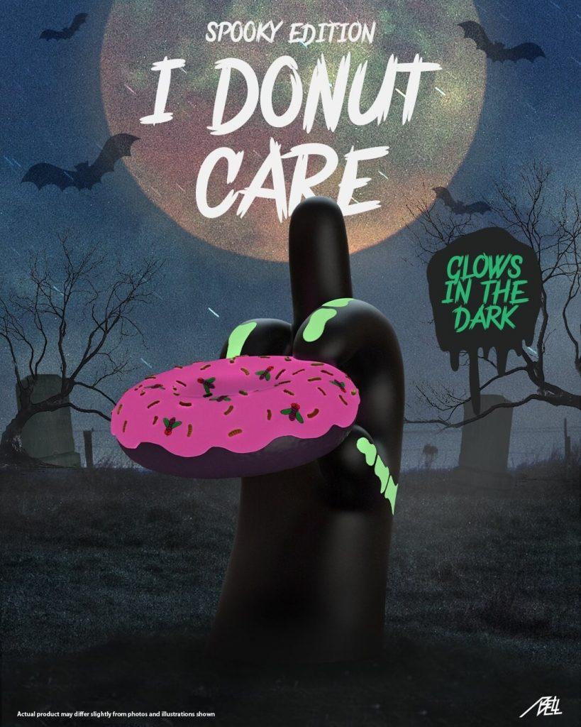 I Donut Care Mighty Jaxx Abell Octovan Halloween 2020 Art Toys