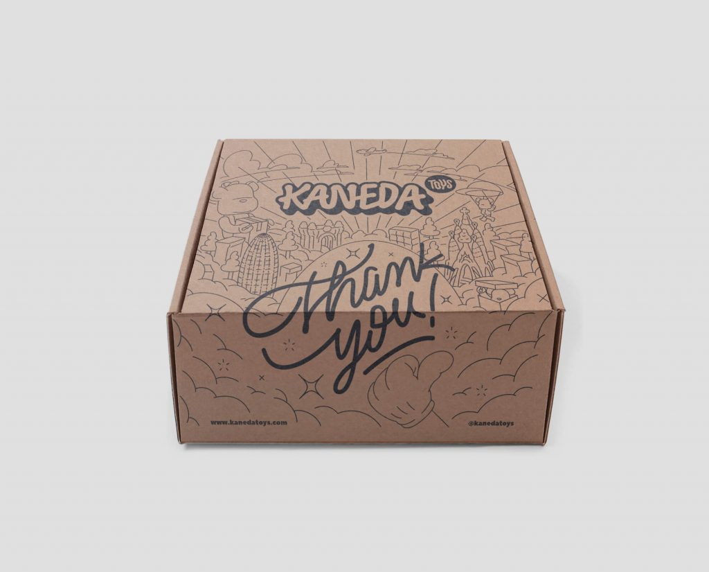 Kaneda Toys Caja Postal Eco Packaging