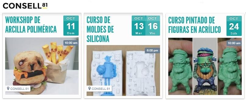 Talleres Art Toys Consell 81 Expo Toys BCN
