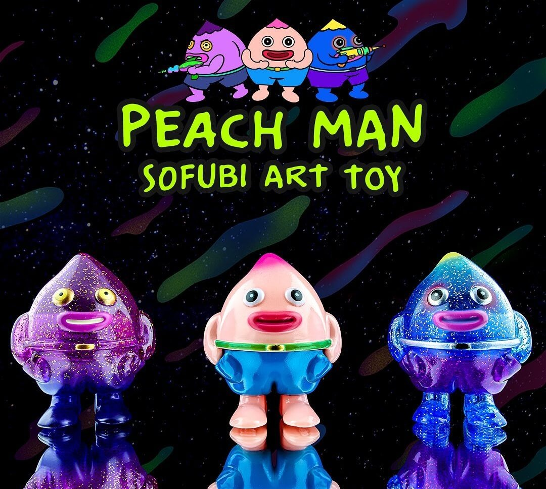 Anonymous Rat Peach Man Sofubi Art Toys