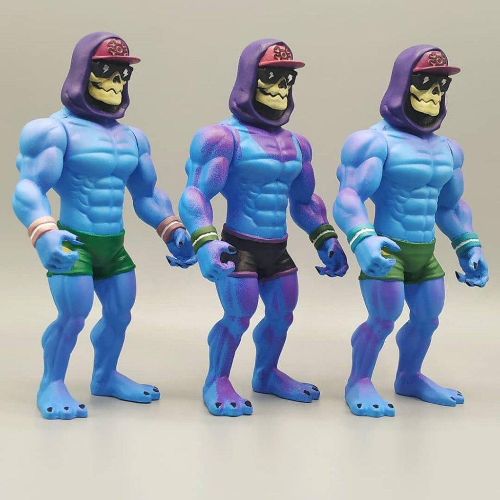 Evil Mind on Vacation Skeletor Hombre bala Toys