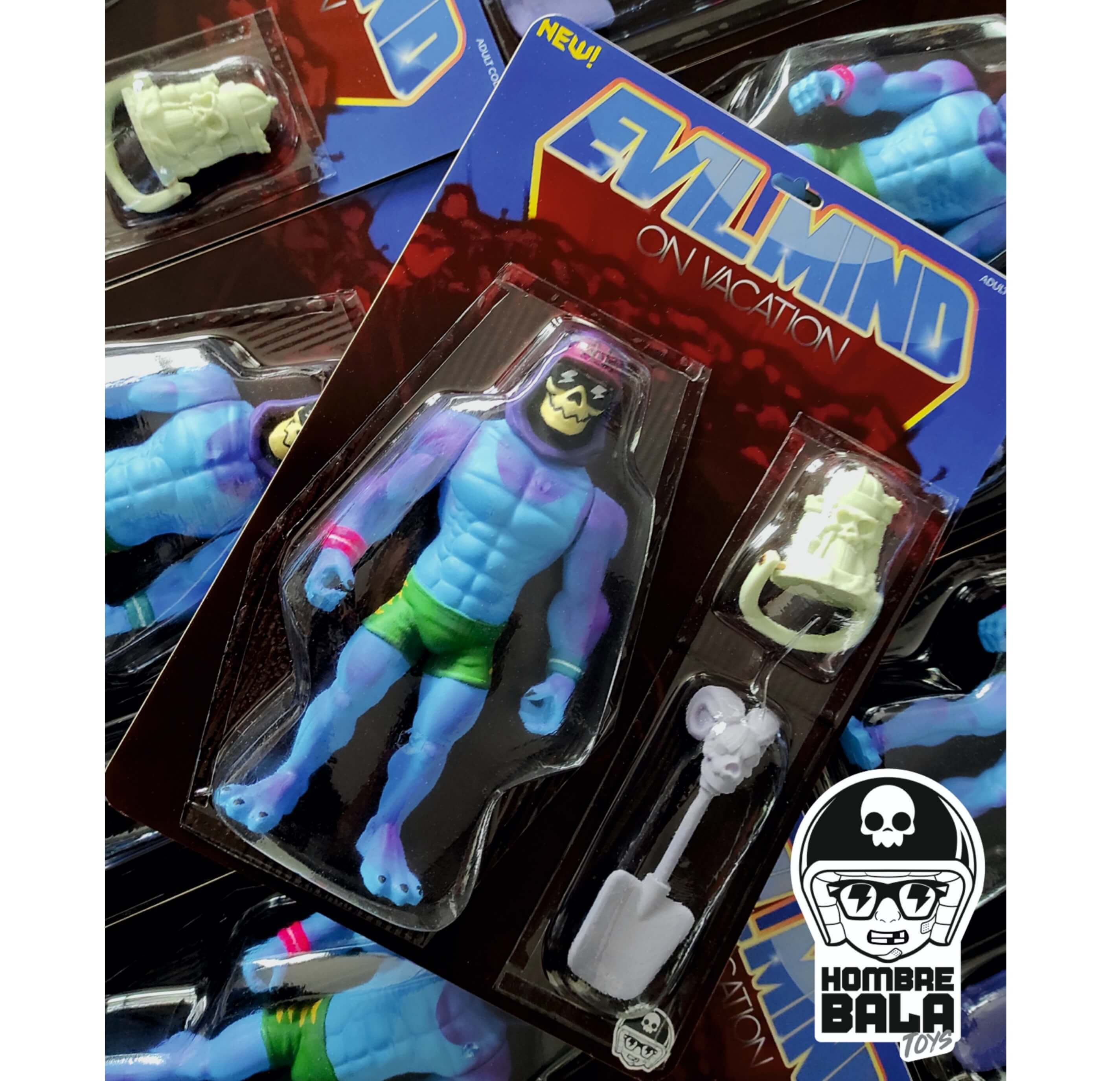 Evil Mind on Vacation Skeletor Hombre bala Toys