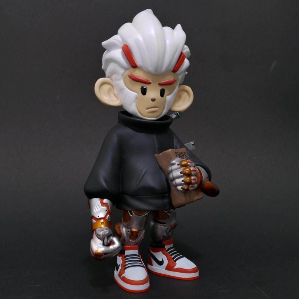 Specter the Assassin Monkey Hanuman Edition WVD Art Toy