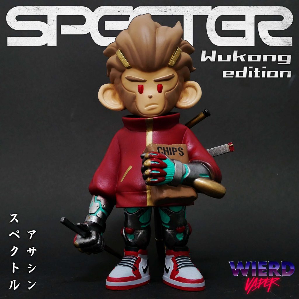 Specter the Assassin Monkey Wukong Edition WVD Art ToySpecter the Assassin Monkey Wukong Edition WVD Art Toy