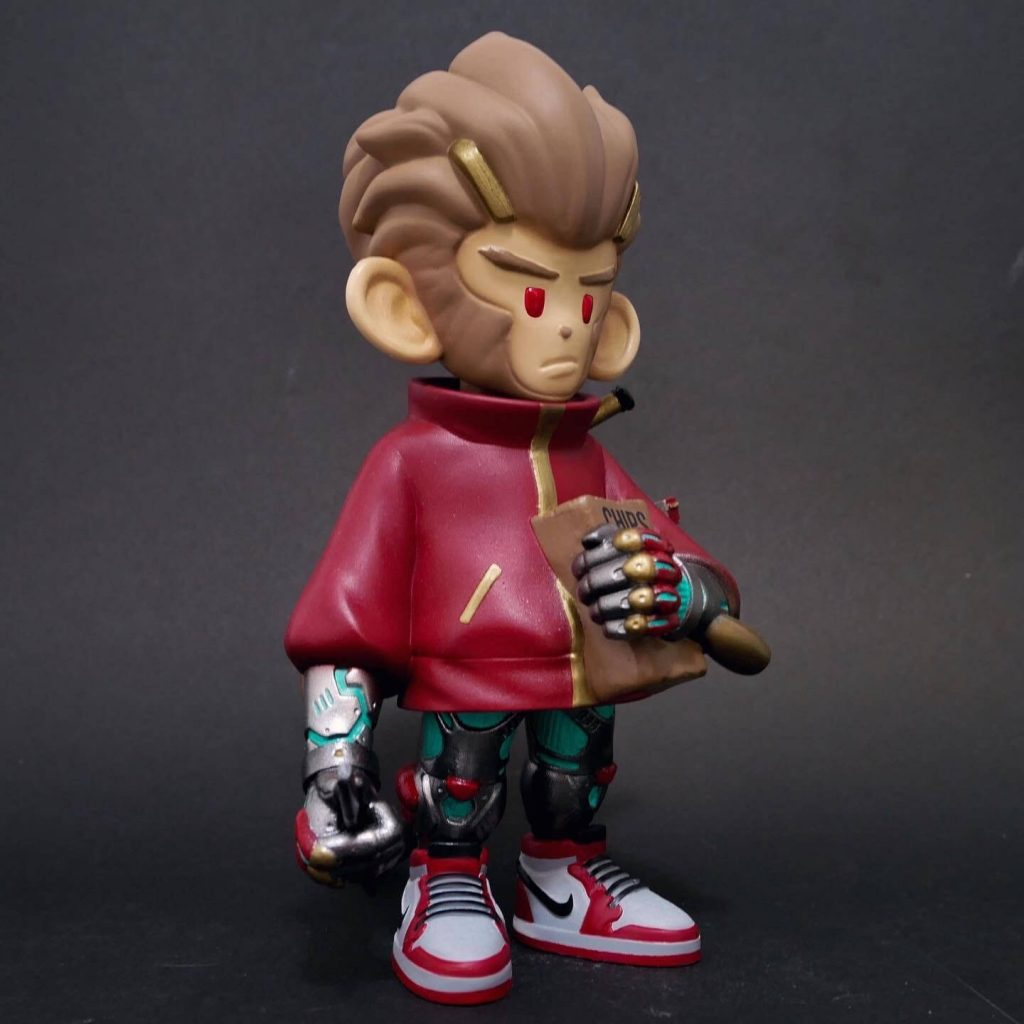 Specter the Assassin Monkey Wukong Edition WVD Art Toy