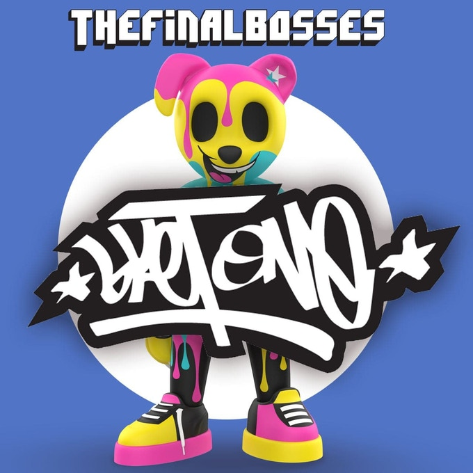 TheFinalBosses Paisus Sket One Kickstarter Vinyl Art Toy