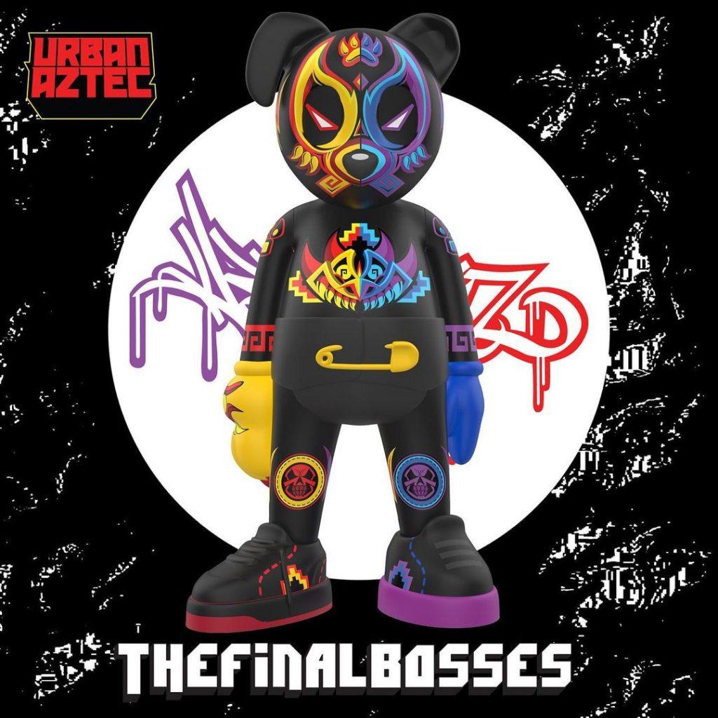TheFinalBosses Paisus Urbanaztec Kickstarter Vinyl Art Toy