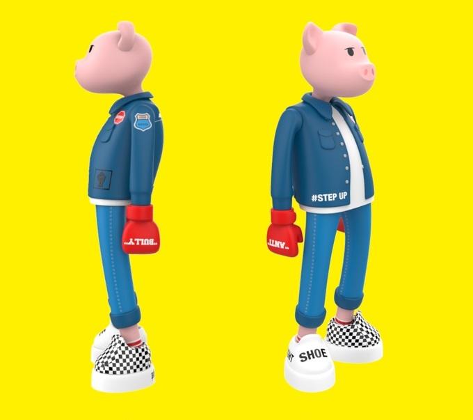 TheFinalBosses Paito Kickstarter Vinyl Art Toy