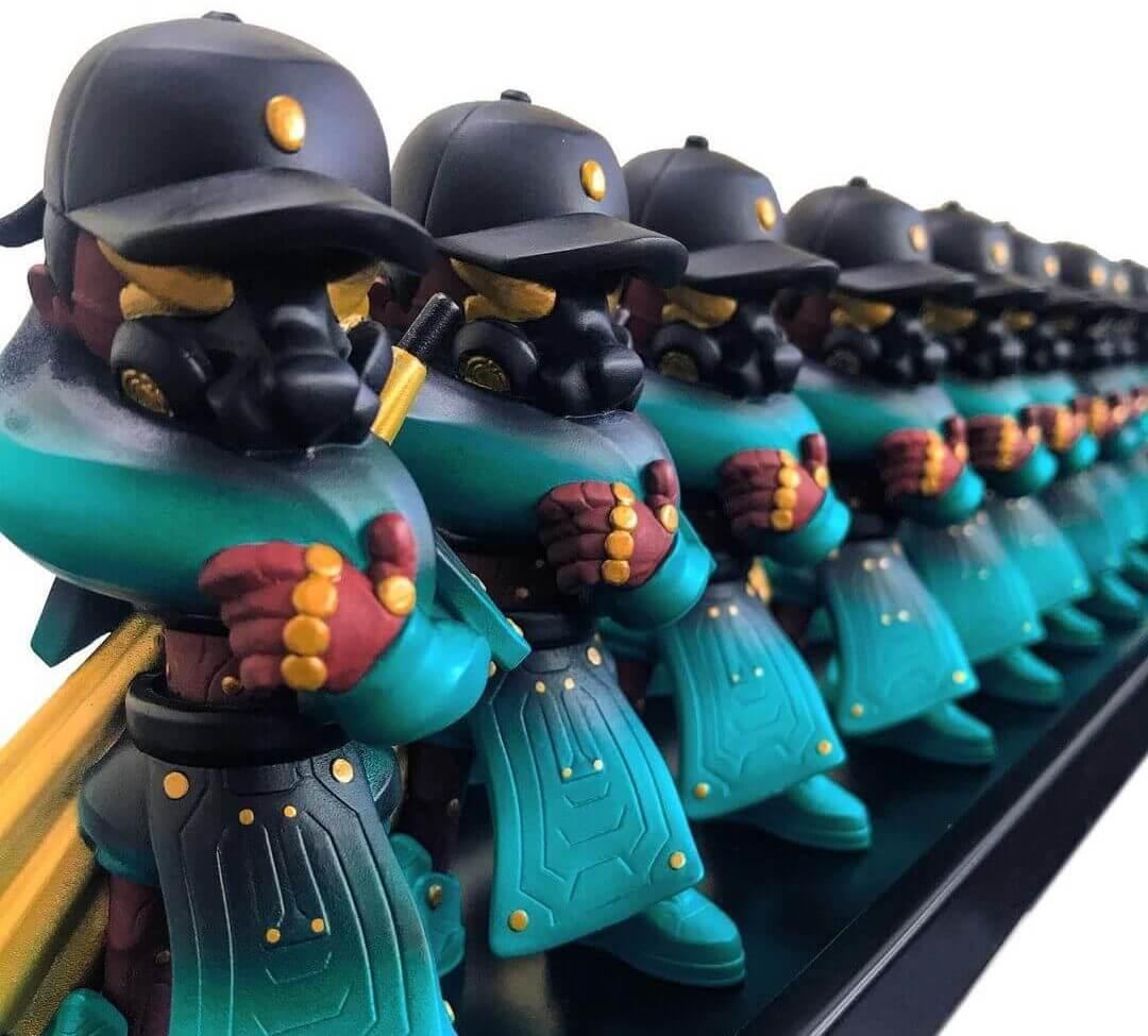 武 CHING ll de ELZ-co Art Toy (1)
