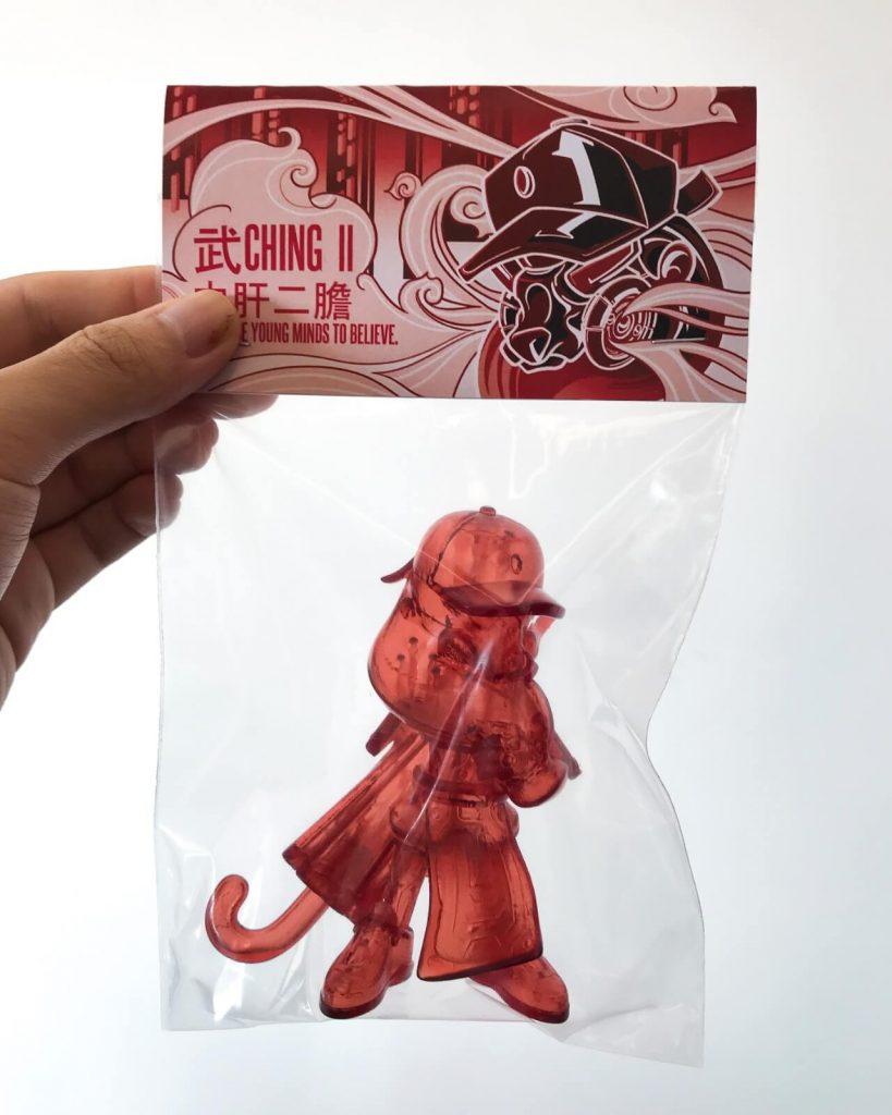 武CHING ll de ELZ-co Clear Red Edition