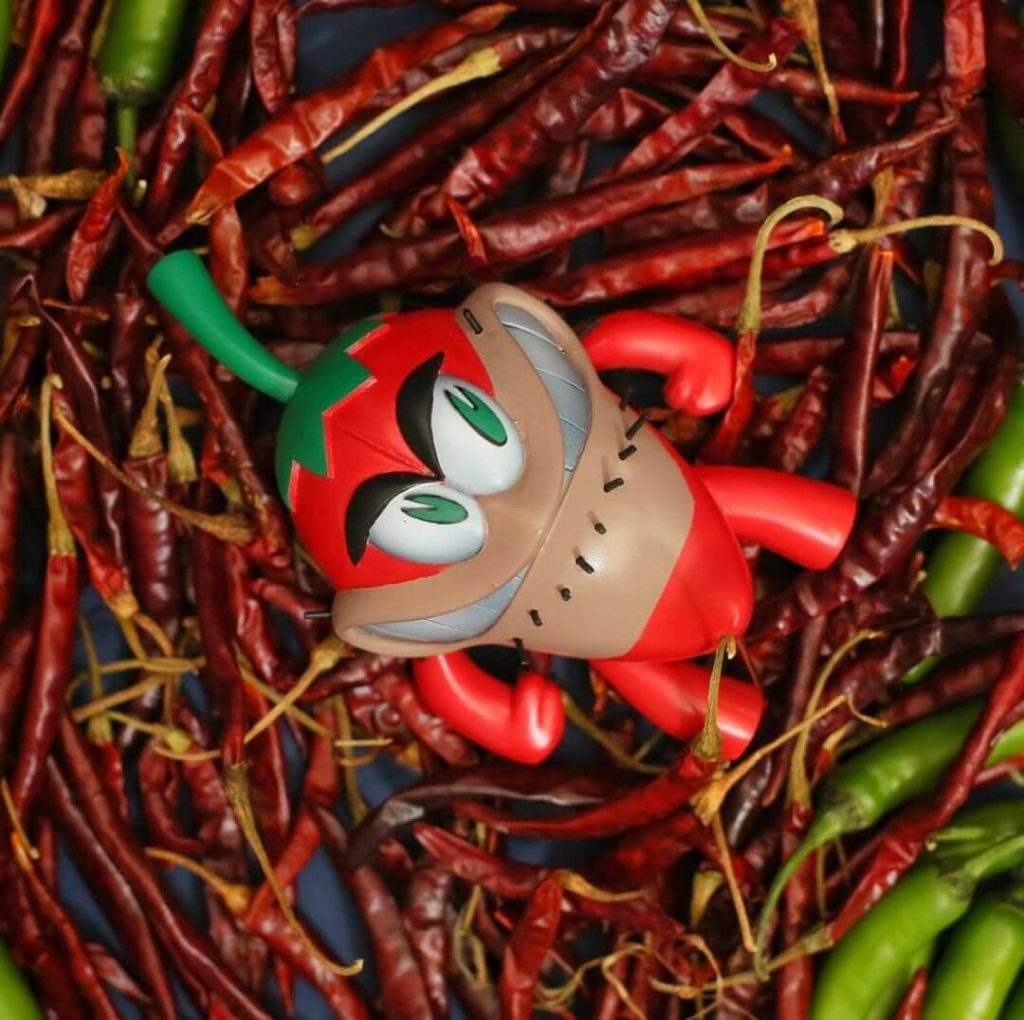 Chile Damian Vinyles Chiles Art Toy Resina