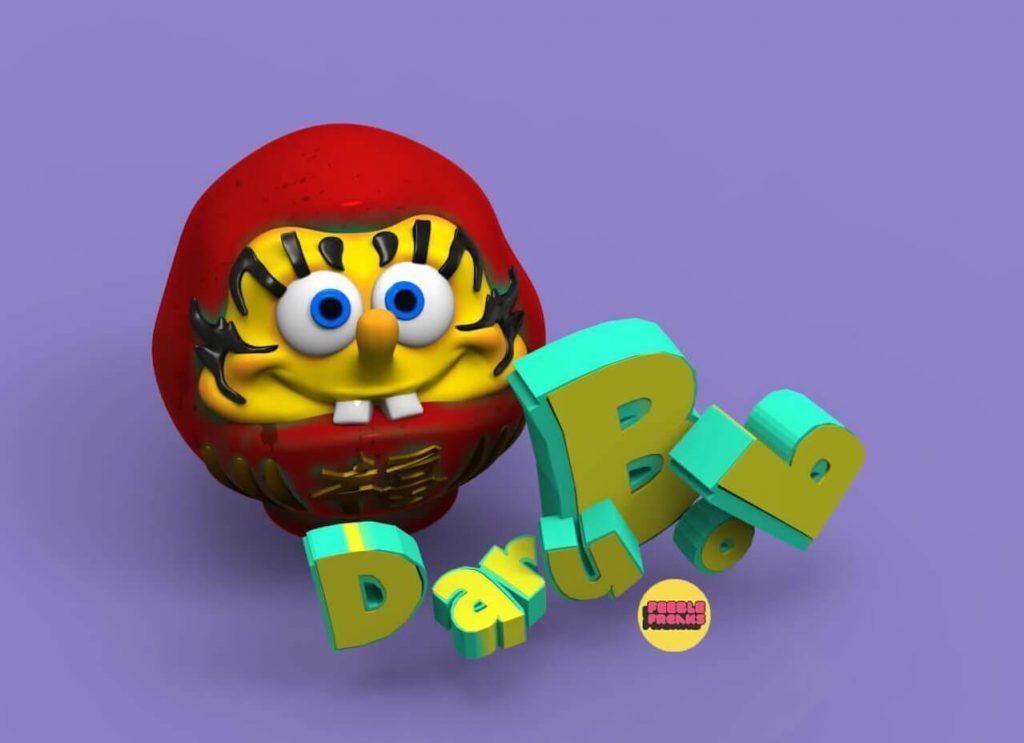 Darubob Feeble Freaks Moi Martos Art Toy Vinyl