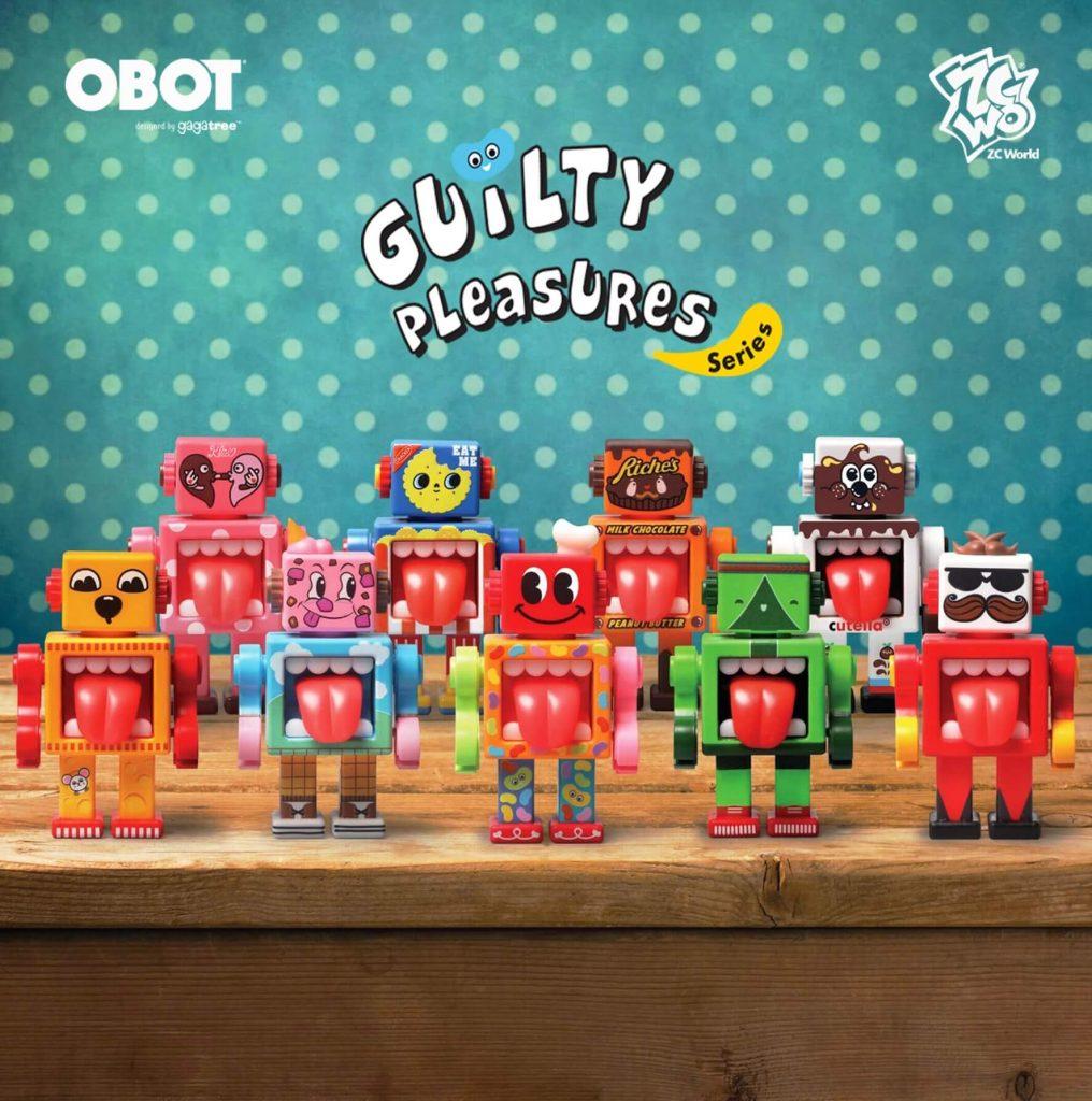 Guilty Pleasure Series - Obot Blind Box de Gagatree