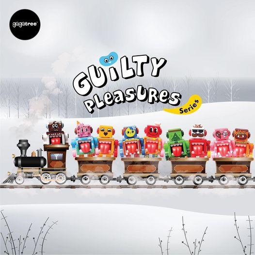 Guilty Pleasure Series - Obot Blind Box de Gagatree