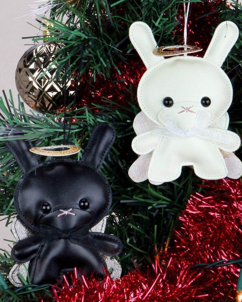 Holiday 5 Plush Angel Dunny Ornament de Flat Bonnie x Kidrobot