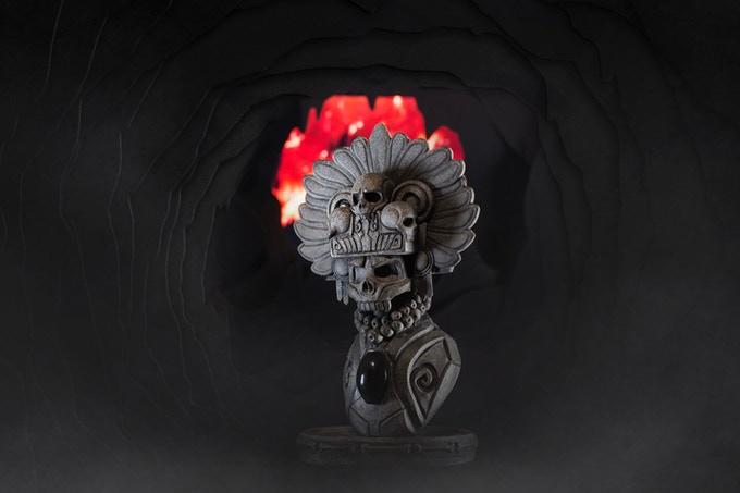 Mictlantecuhtli Art Toy Ek Ocelotl