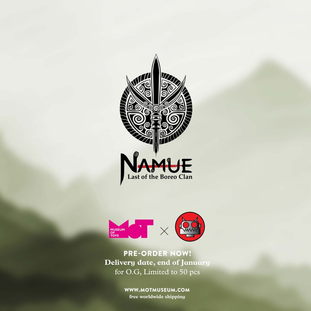 Namue Last of the Boreo Clan Art Toy Sofubi Museum of Toys